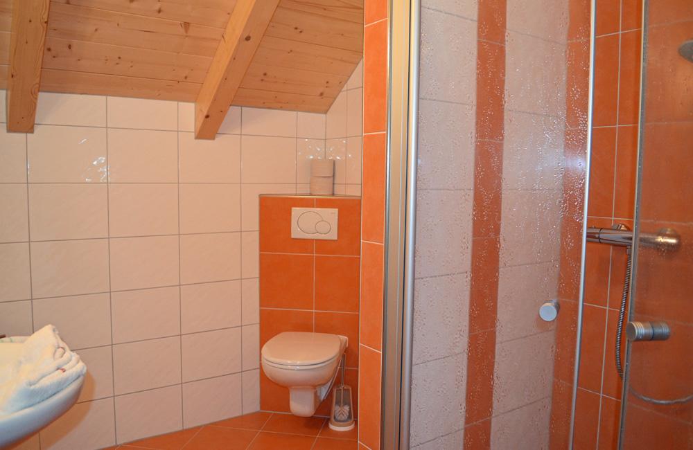 Badezimmer Ferienhaus Longa