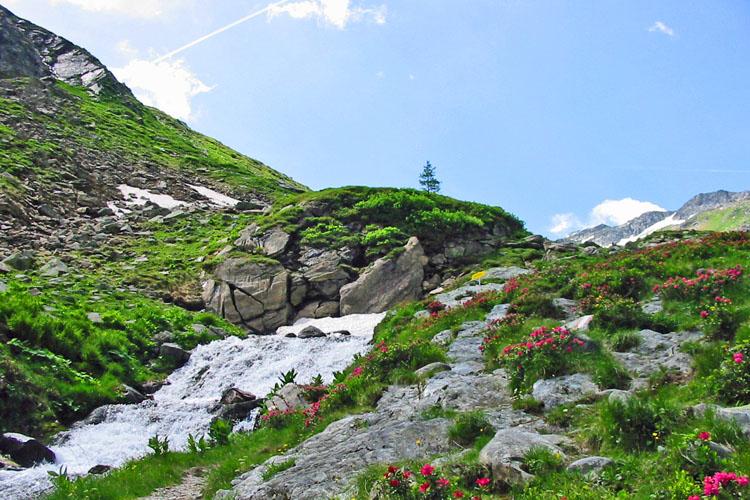 Sommerurlaub Lungau Bergsteigen