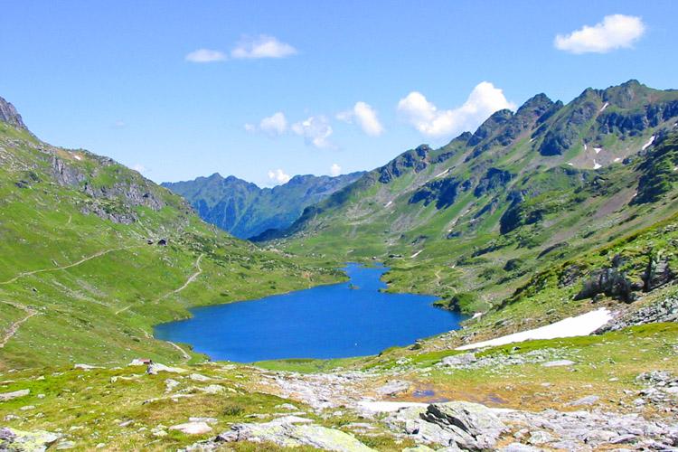 Wandern Weißpriach Giglachsee
