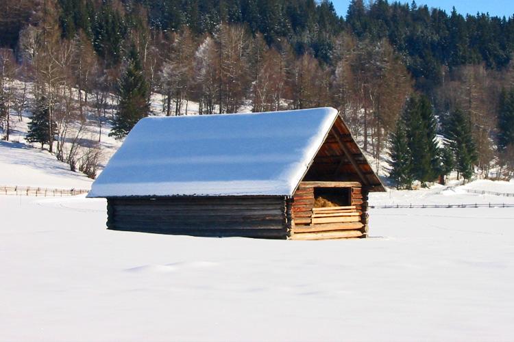 Winterlandschaft Weißpriach