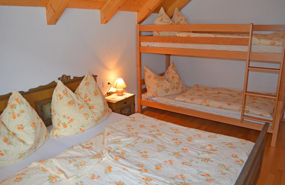 Zimmer 3 Ferienhaus Longa
